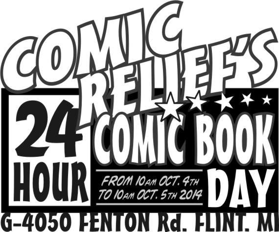 24-Hour Free Comic Book Day 2014